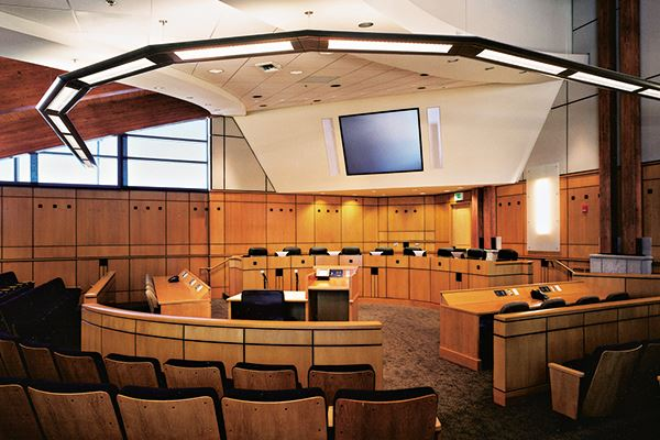 Town Hall Council Chambers