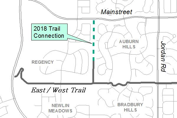 Auburn Hills North-South Trail Connection