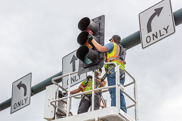 New Traffic Signal Installation