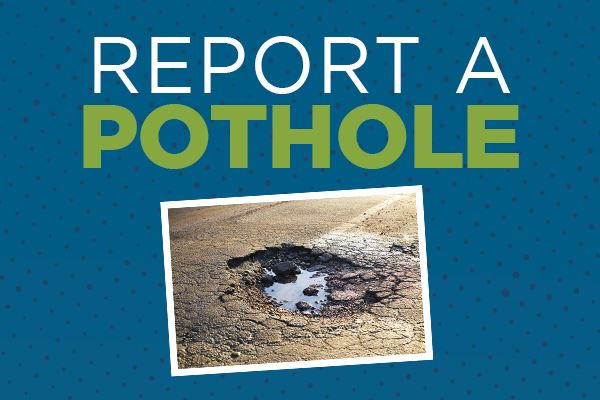 Report a Pothole Project graphic