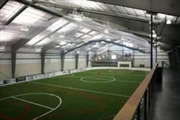 Looking over Indoor Sports Turf