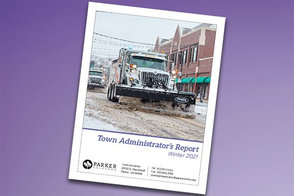 Town Administrator&#39s Report - Winter 2021